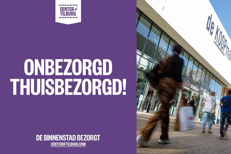 Nieuws: Binnenstad Tilburg bezorgt bij je thuis!